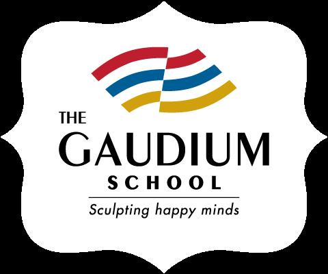 International School In Hyderabad: The Gaudium School Retina Logo